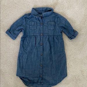 Old Navy Toddler Girls Chambray Dress